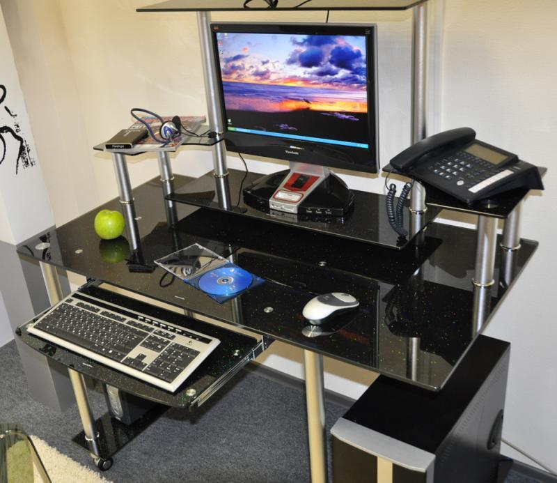Стол компьютерный кс-17 (d-99).